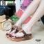 รองเท้าแตะฟิทฟลอปหนีบ พื้นนูน L2679-BRN [สีน้ำตาล] thumbnail 1