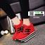 รองเท้าผ้าใบเสริมส้นสไตล์เกาหลี IH SB1084-RED [สีแดง] thumbnail 4