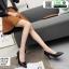 รองเท้าคัชชูหนังลายวัว K9080-BLK [สีดำ] thumbnail 2