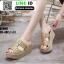 รองเท้าสวมส้นเตารีด ST998-GLD [สีทอง] thumbnail 2