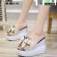 รองเท้าแบบสวมทรงเตารีด ST950-CRM [สีครีม] thumbnail 2