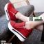 รองเท้าผ้าใบเสริมส้น ST014-RED [สีแดง] thumbnail 3
