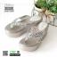 รองเท้าแตะแบบหนีบ ส้นโฟม JK8011-GRY [สีเทา] thumbnail 3