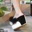รองเท้าหูคีบส้นเตารีด ST821-BLK [สีดำ] thumbnail 3