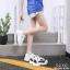 รองเท้าผ้าใบเสริมส้น ทรง Sport G-1414-WHI [สีขาว] thumbnail 2