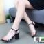 รองเท้าลำลองแบบสวม ทรง maxi G1289-BLK [สีดำ] thumbnail 4