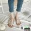 รองเท้าแตะแฟชั่น สายคาดใส G-1418-GRN [สีเขียว] thumbnail 2