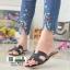 รองเท้าแตะหน้า H J332-ดำ [สีดำ] thumbnail 1