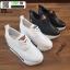 รองเท้าผ้าใบเสริมส้น ST526-WHI [สีWHI] thumbnail 5