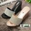 รองเท้าส้นเตารีด สไตล์แบรนดัง RU40-PINK [สีชมพู] thumbnail 5