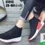 รองเท้าผ้าใบถุงเท้าแบบสวม ST013-RED [สีแดง] thumbnail 1