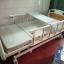 เตียงผู้ป่วย 3 ไกร์ มือหมุน แบบ ABS + เบาะที่นอน 4 ตอน + เสาน้ำเกลือ + ถาดวางอาหาร รหัส MEA04 thumbnail 1