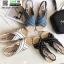 รองเท้าแตะงานเกาหลี งานดีมาก แตะปอ G-1345-LBLU [สีฟ้า] thumbnail 3