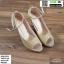 รองเท้าส้นสูงเปิดหน้า J2431-GLD [สีทอง] thumbnail 1