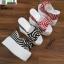 รองเท้าแบบสวมส้นเตารีด งานนำเข้า100% ST21-RED [สีแดง] thumbnail 5