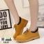 รองเท้าบูทนำเข้าสุดชิค สไตล์เกาหลี M165-น้ำตาล [สีน้ำตาล ] thumbnail 1