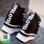 รองเท้าผ้าใบเสริมส้นสีดำ ทรงมัฟฟิน ดีไซน์เท่ๆ (สีดำ ) thumbnail 7