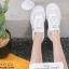 รองเท้าผ้าใบเสริมส้น ทรง Sport G-1414-WHI [สีขาว] thumbnail 4