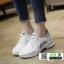 รองเท้าผ้าใบแฟชั่น สไตล์เกาหลี ผ้าตาข่ายนิ่ม C-1-WHI [สีขาว] thumbnail 2