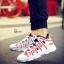 รองเท้าผ้าใบ PU ทรง SPORT-Red A-11 [สีแดง] thumbnail 1
