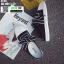 รองเท้าผ้าใบสวมเปิดท้าย ST55-BLK [สีดำ] thumbnail 4