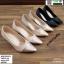 รองเท้าคัชชู วัสดุหนังกริตเตอร์ TM2513-BLK [สีดำ] thumbnail 1