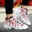 รองเท้าผ้าใบ PU ทรง SPORT-Red A-11 [สีแดง] thumbnail 2