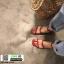 รองเท้าแตะผู้หญิงรัดส้น สไตล์เกาหลี G-1437-RED [สีแดง] thumbnail 1