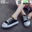 รองเท้าผ้าใบสวมเปิดท้าย ST5520-BLK [สีดำ] thumbnail 2
