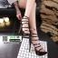 รองเท้าส้นสูง สไตล์เกาหลี 17-1283-BLACK [สีดำ ] thumbnail 2