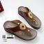 รองเท้าสุขภาพ พื้นนุ่ม 10182-กากี [สีกากี] thumbnail 2