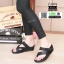 รองเท้าสุขภาพเพื่อ แบบสวมโป้ง L1964-BLK [สีดำ] thumbnail 5