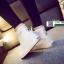 รองเท้าผ้าใบหุ้มข้อนำเข้า สไตล์เกาหลี YZB-059-WHI [สีขาว] thumbnail 3
