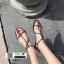 รองเท้าแตะผู้หญิงรัดส้น Celine sandals C55-1-BLK [สีดำ] thumbnail 2