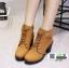 รองเท้าบูทส้นสูงนำเข้า JIH-888-BWN [สีน้ำตาล] thumbnail 4