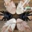 รองเท้าส้นแท่งรัดข้อเปิดส้น <SP>17-2323-BLK<SP>[สีดำ] thumbnail 5