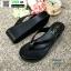 รองเท้าสไตล์ลำลองแบบหนีบ JK8059-BLK [สีดำ] thumbnail 2
