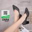รองเท้าคัทชูหัวแหลมสีดำ แต่งกริตเตอร์ (สีดำ ) thumbnail 3