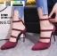 รองเท้าคัชชูรัดข้อส้นเข็ม ST1860-MAR [สีเลือดหมู] thumbnail 2