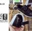 รองเท้าผ้าใบสไตล์เกาหลี ST888-BLK [สีดำ] thumbnail 5