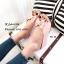 รองเท้าเตารีดโบว์ เปิดส้น 961-25-ชมพู [สีชมพู] thumbnail 3