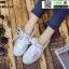 งานนำเข้า รองเท้าผ้าใบสไตล์เกาหลี ST888-WHI [สีขาว] thumbnail 2