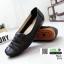 รองเท้าคัชชู เพื่อสุขภาพ มีไซส์ 41 3076-ดำ [สีดำ] thumbnail 2