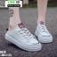 รองเท้าผ้าใบสวมเปิดท้าย ST5520-PNK [สีชมพู] thumbnail 1