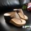 รองเท้าเตารีด เสริมส้นหูคีบ พื้นลายตาราง โลโก้ลาคอส 1108-น้ำตาล [สีน้ำตาล ] thumbnail 1