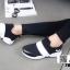 รองเท้าผ้าใบลายช้าง 7B309-BLK [สีดำ] thumbnail 3