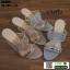 รองเท้าส้นสูงแบบสวมเปิดส้น DY9661-PKG [สีชมพู] thumbnail 2