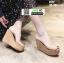 รองเท้าแบบสวมทรงเตารีด ST12-TAN [สีแทน]