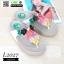 รองเท้าสายสุขภาพแต่งดอกไม้สวยงาม L2027-WHT [สีขาว] thumbnail 3