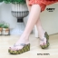 รองเท้าเพื่อสุขภาพ หนีบส้นโฟม JK8053-GRY [สีเทา] thumbnail 5